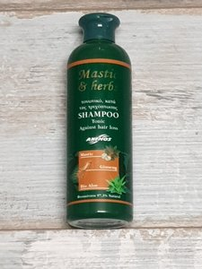shampoo tegen haaruitval, Mastiek,mastic