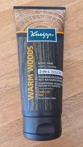 Kneipp 2-in 1 Men douche 200ml Warm Woods