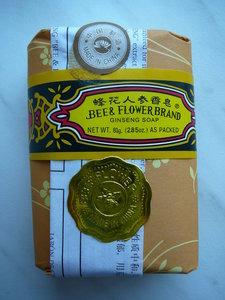 Ginseng zeep, Bee & Flowerbrand