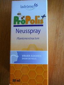 Propolis neusspray Bio,Ladrome, (Cruydhof)