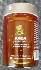 Bos honing met tijm zonder toevoegingen 475 gram