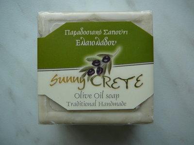 olijfoliezeep handmade 200 gram blok