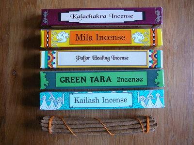 Tibitaanse Wierook, Green Tara Incense Giftpack