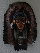 Indianenhoofd-vedertooi-masker