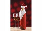 wijnfles-kersthoes-pakje-kerstversiering-fles